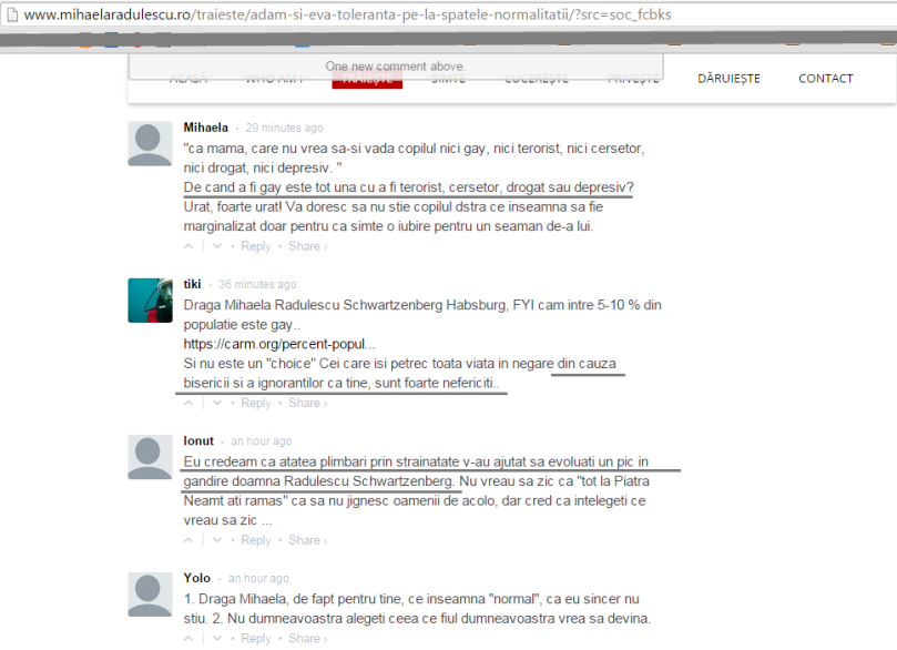 comentarii 2 mihaela radulescu